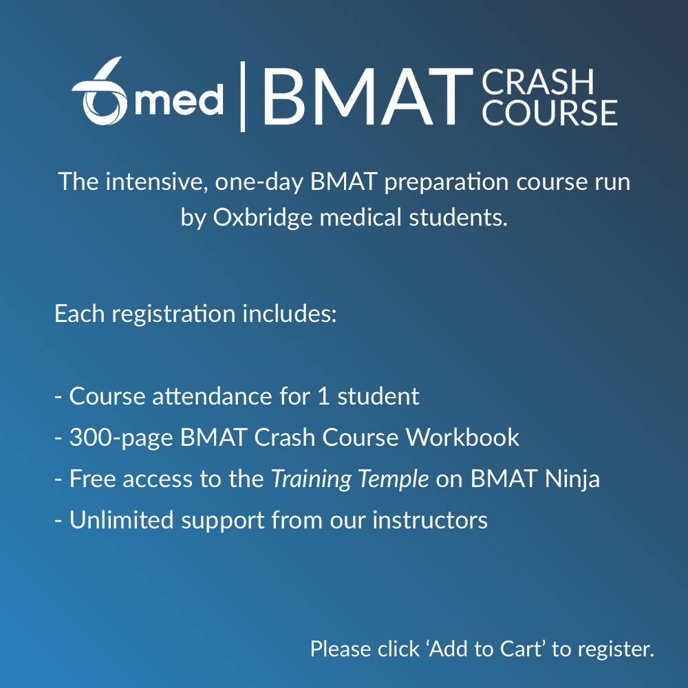 practice bmat essays 6med bmat crash course attendees if you're registered to attend (or have already attended) the 6med bmat crash course this year, you get free access to the premium training temple, which contains all the notes for section 1, 2 and 3, and loads of practice essays with commentary.